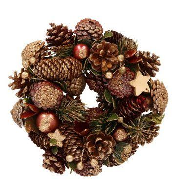 Wianek Bozonarodzeniowy Na Drzwi 4875718612 Oficjalne Archiwum Allegro Christmas Wreaths Halloween Wreath Holiday Decor