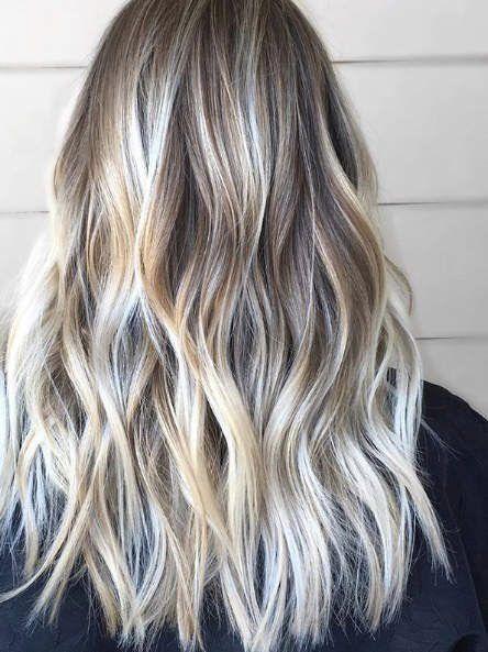 11 Fall Hair Color Trends That Are Going To Be Huge This Year Mechas En Caída Para Cabello Cabello Largo Mechas Coloración De Cabello