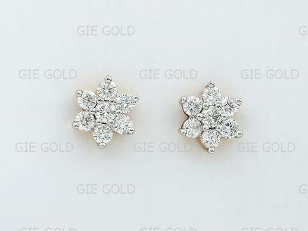 Nakshatra Earrings Designs Jnb Jewellers American Diamond