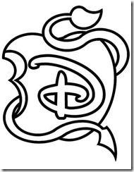 Descendentes Disney Desenhos Para Colorir Imprimir Pintar 3