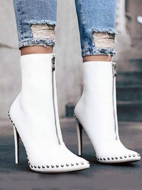 Joygos Fashion 2 Colors High Heel Boots