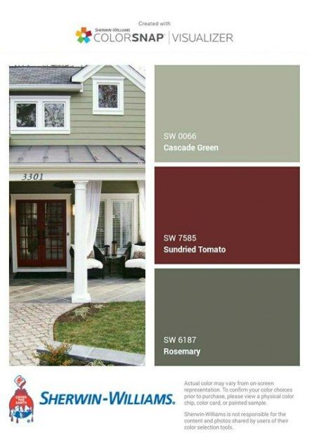 Exterior Paint Colora For House Gray Grey Design Seeds 25 Ideas House Paint Exterior Exterior House Paint Color Combinations Green House Exterior