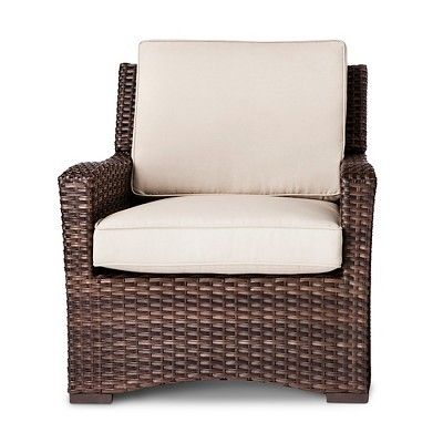 Halsted 4pc Wicker Patio Furniture Set Tan Threshold Wicker Patio Furniture Set Patio Chairs Wicker Patio Chairs
