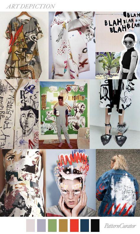 S/S 2018 fashion trend: Art Depiction