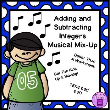 simplest form lesson 6.3 answers Adding and Subtracting Integers Musical Mix-Up TEKS 1.1C 1.1D