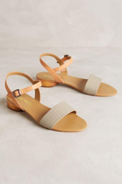 Nina Payne Kotze Sandals #anthrofave
