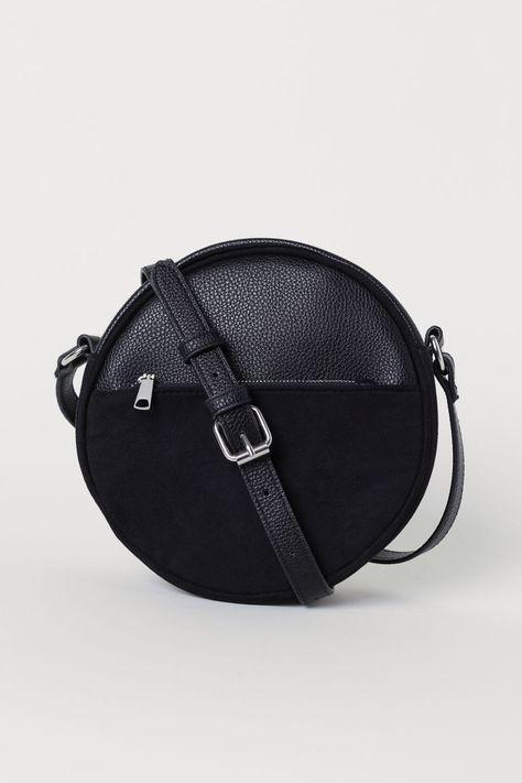 e5337064aa Round shoulder bag - Black - Ladies