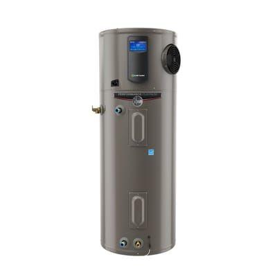 Rheem Performance Platinum 80 Gal 10 Year Hybrid High Efficiency Smart Tank Electric Water Heater Xe80t10hd50u1 Electric Water Heater Water Heater Smart Tank