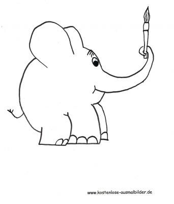 ausmalbilder elefant und maus - tiffanylovesbooks