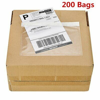 Ad Ebay 200 7 5 X 5 5 Clear Adhesive Top Loading Packing List Shipping Labels Envelopes In 2020 Shipping Envelopes Packing List Adhesive