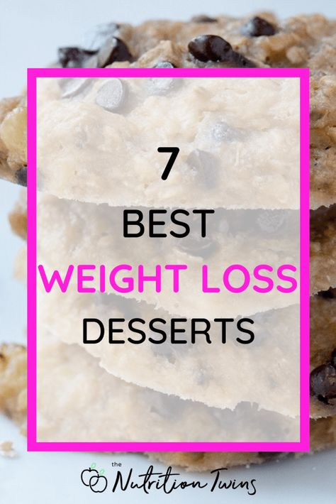 7 Best Weight Loss Desserts | Easy, low-calorie dessert recipes that feel like a splurge | Healthy sweets to stay on track with your flat-belly workout | #weightlossdesserts #healthychocolaterecipes For MORE RECIPES, fitness  nutrition tips please SIGN UP for our FREE NEWSLETTER www.NutritionTwins.com