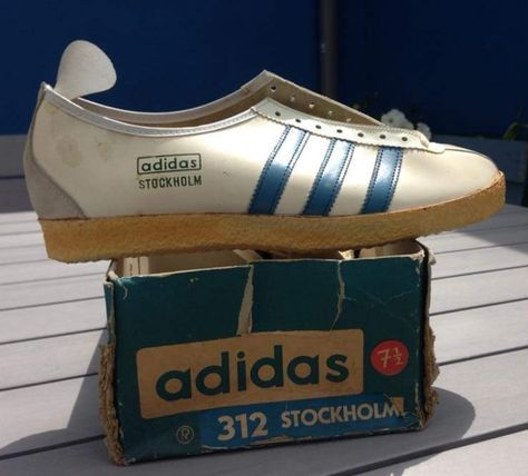 A wonderful pair of Adidas Munchen 72,made in West Germany