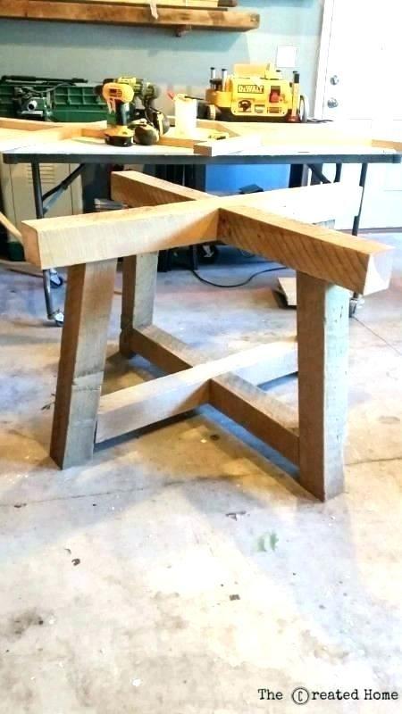 Table Base Diy Pedestal Table Diy Pedestal Table Legs In 2020