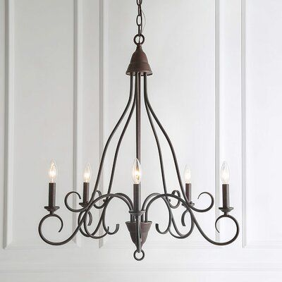 Fleur De Lis Living Conyers 5 Light Candle Style Classic Traditional Chandelier Chandelier Bedroom Candles Decor