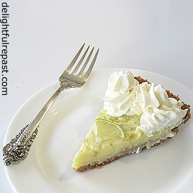 Delightful Repast Key Lime Pie Without Condensed Milk Key Lime Pie Key Lime Lime Pie