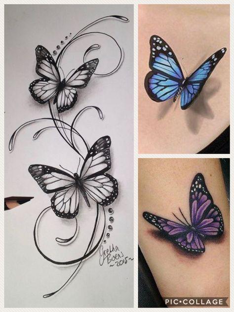 Like that -  Like that  - #butterflytattoo #halfbutterflytattoo #smalltattooformen #wavetattoo