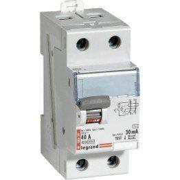 Interrupteur Differentiel Legrand 30 Ma 40 A Ac Interrupteurs Tableau Electrique Domotique