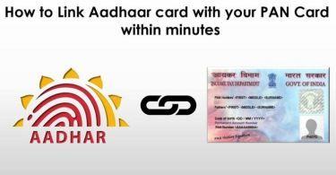 How To Link Aadhaar Card To Bank Account Bank Account Aadhar Card Accounting