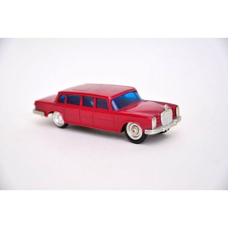 Vintage 1960's Lucky Toys Mercedes-Benz 600 Pullman Plastic Friction Toy Car