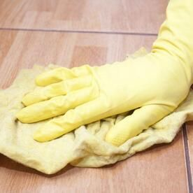 セリアのゴム手袋はロングサイズで使いやすいキッチンのお掃除グッズ 暮らしの知識 オリーブオイルをひとまわし 手袋 ゴム手袋 ゴム