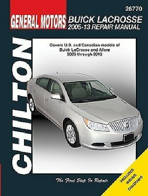 Advertisement Ebay Repair Manual Cx Chilton 28770 Fits 2005 Buick Lacrosse Repair Manuals Buick Buick Lacrosse