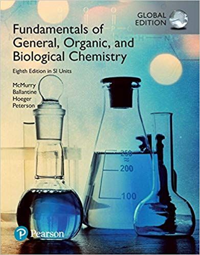 Fundamentals Of General Organic And Biological Chemistry 8th By David S Ballantine Biological Chemistry Chemistry Textbook Chemistry