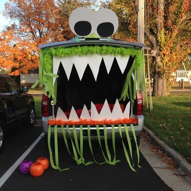 10 best Trunk or Treat images on Pinterest - halloween trunk or treat ideas