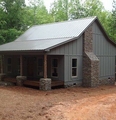 They Build Such Cute Houses Steel Building Homes Metal Building Homes Metal Barn Homes