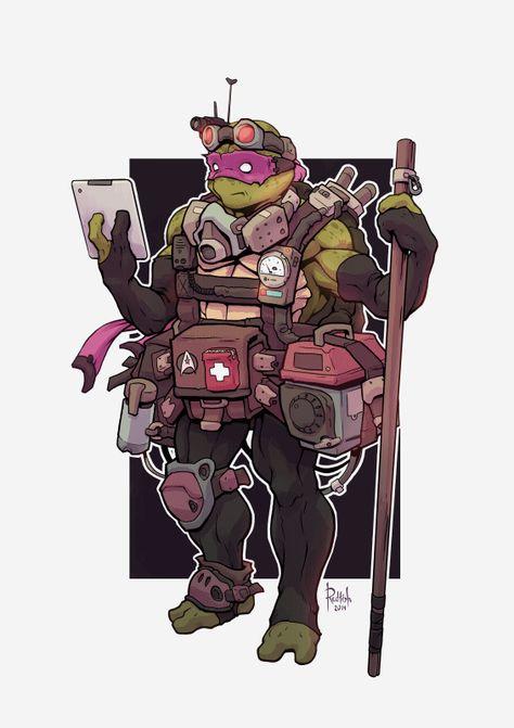 Alex Redfish - TMNT Donatello