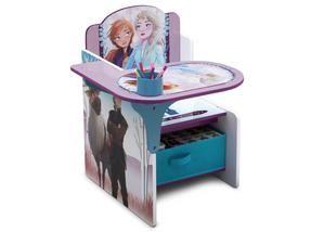 Frozen Ii Chair Desk With Storage Bin In 2020 Desk Storage Desk Chair Storage Bin