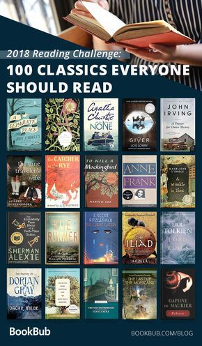 Reading Challenge 100 Classics To Read In A Lifetime Books Everyone Should Read Classics To Read Book Club Books