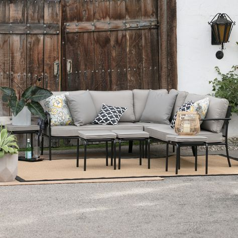 Fabulous Belham Living Parkville Metal Sofa Sectional Set From Camellatalisay Diy Chair Ideas Camellatalisaycom