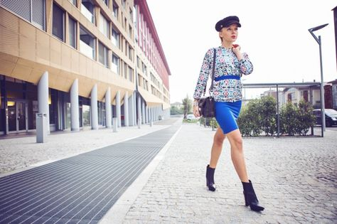 fd59c29963 darya kamalova thecablook fashion blog street style outfit ootd HM PARIS  COLLECTION HAT VJ STYLE JACKET