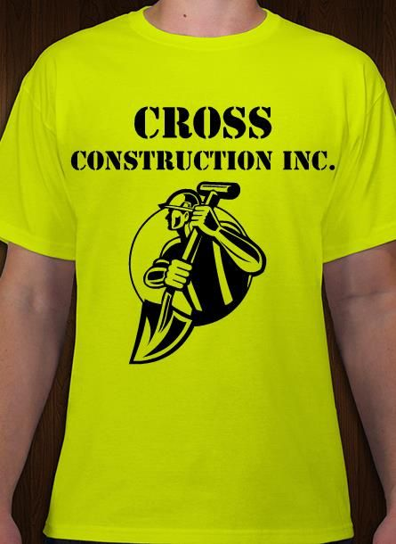 Construction company logo and t-shirt. Personalize online ...