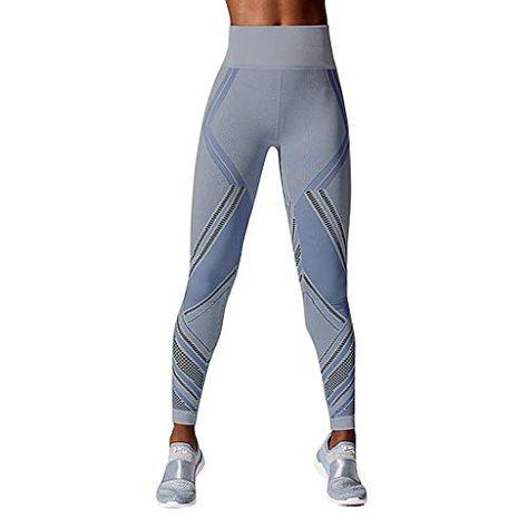 Mujer alta cintura deportes yoga pantalones Running fitness polainas