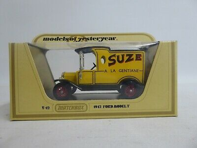 Ad Matchbox Y 12 Models Of Yesteryear 1912 Ford Model T Suze A