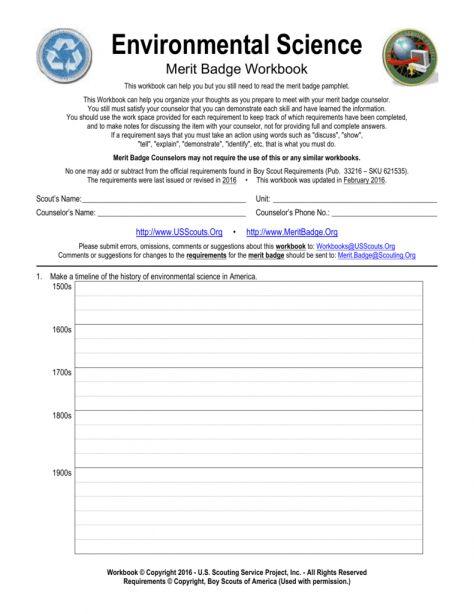 Weather Merit Badge Worksheet   worksheet