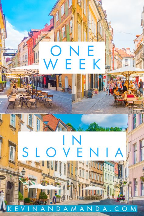 Ljubljana (pronounced Loo-bee-yah-nuh) is one of the smallest capital cities in Europe. It's quiet, laid-back, and nestled along the Ljubljanica river. Colorful baroque facades line the narrow, cobblestone streets. It reminds me of a mini Prague. There's even a castle on a hill #slovenia #europe #ljubljana #river