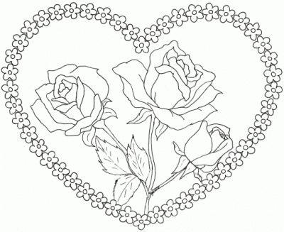 Imagenes De Flores Bonitas Para Colorear Para Mi Amor Dibujos De