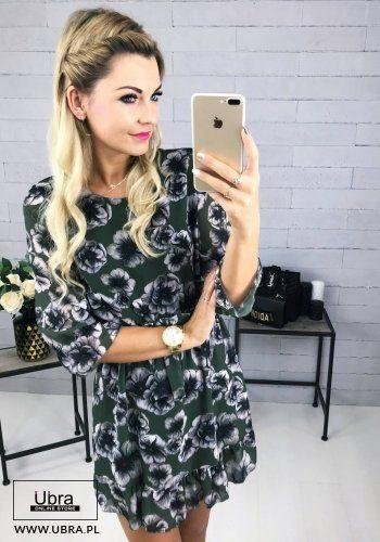 Sukienka Doreen Khaki Fashion Dresses Casual Dress