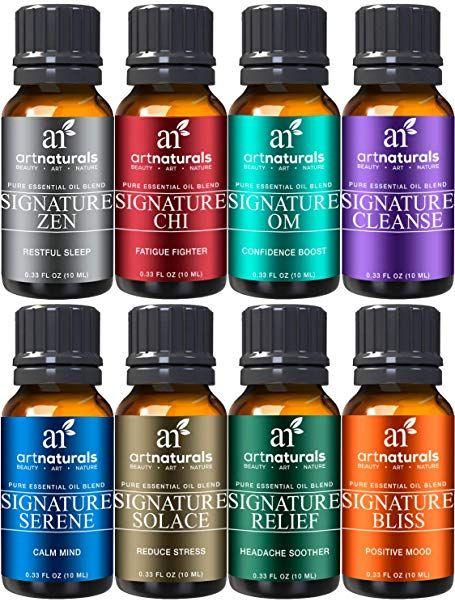 Artnaturals Signature Blend Essential Oils Set 8 X 10ml 100