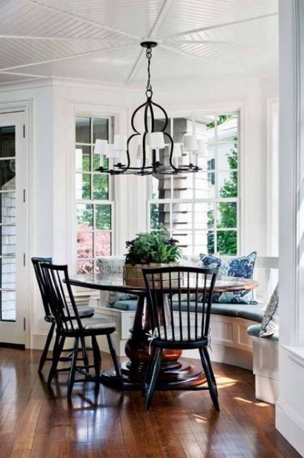 19 Trendy Breakfast Nook Diy Bay Windows Chairs Dining Table With Bench Bay Window Seating Kitchen Bay Window Seat