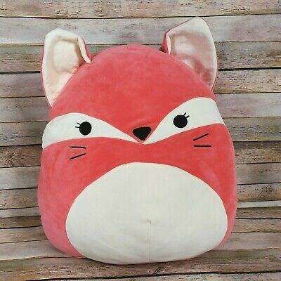Squishmallow 12 Plush Soft Animal Pillow Toy Fifi The Pink Fox