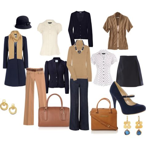 Intern Wardrobe - Select basics you can mix and match to create different looks