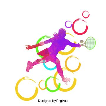 Badminton Sports Competition Olympic Movement Background Of Sports Png Transparent Clipart Image And Psd File For Free Download Badminton Olympics Clip Art
