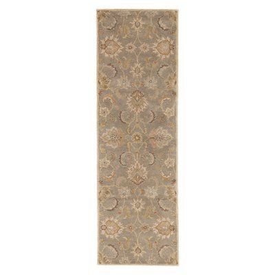 Birch Lane Heritage Thornhill Hand Tufted Wool Silver Grey Tan Area Rug Area Rugs Rugs Wool Area Rugs