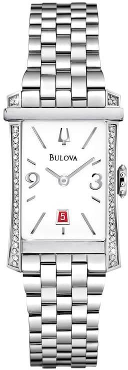 Bulova Watch Women s Diamond Gallery Winslow Stainless Steel
