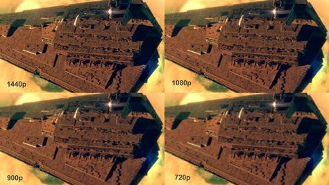 can you tell the deference between 900p vs 1080p vs 1440p vs 720p