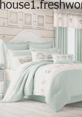 Royal Court Water S Edge Aqua Comforter Set Aqua King Aqua
