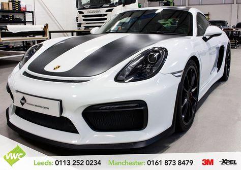 decals An impressive Porsche Cayman...